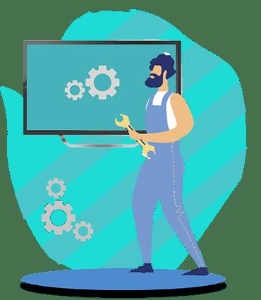 آموزش تعمیرات تلویزیون LED و ۳D