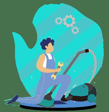 آموزش تعمیر جاروبرقی