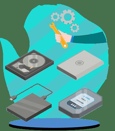 آموزش تعمیرات هارد و بازیابی اطلاعات