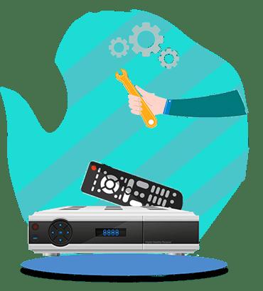 آموزش تعمیرات گیرنده دیجیتال