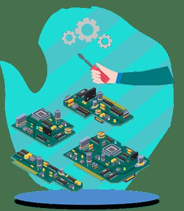 آموزش طراحی بردهای الکترونیکی