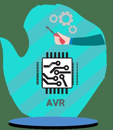 آموزش طراحی میکروکنترلرهای AVR