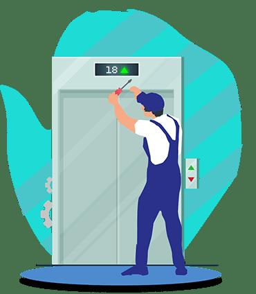 آموزش نصب آسانسور
