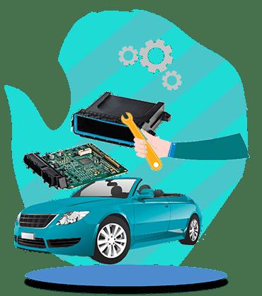 آموزش تعمیرات ecu خودروهای خارجی