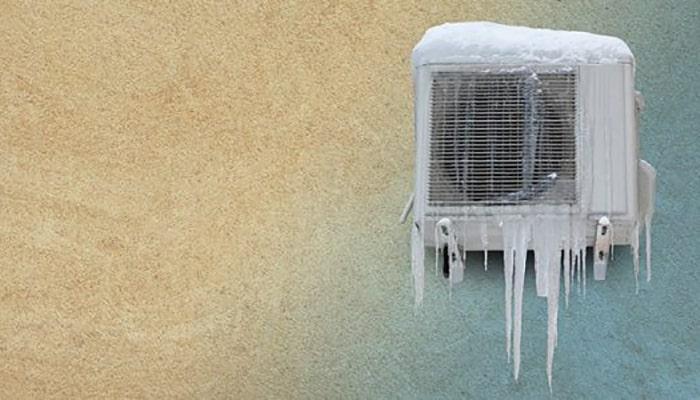 دلایل یخ زدن کولر گازی