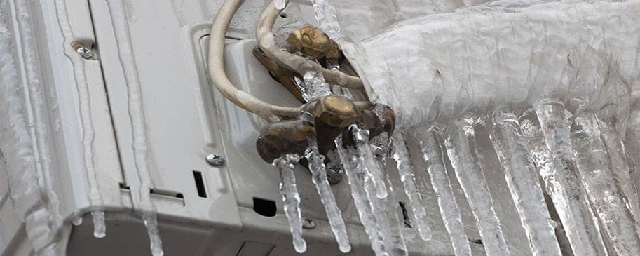 علت یخ زدن کولر گازی