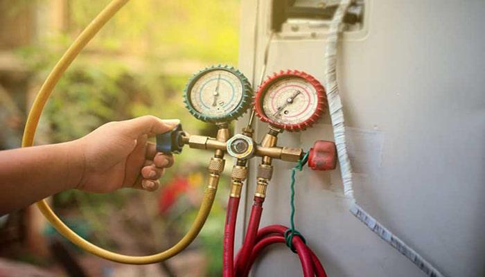 نحوه شارژ گاز کولر گازی