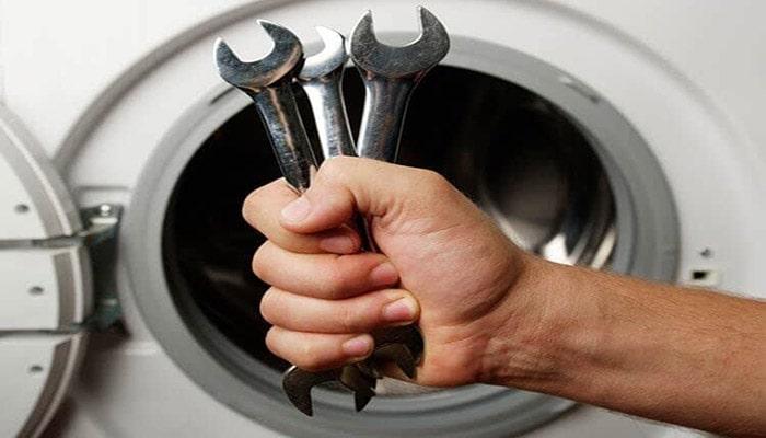 نیم سوز شدن موتور ماشین لباسشویی