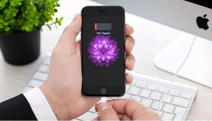 مشکل شارژ در گوشی های آیفون
