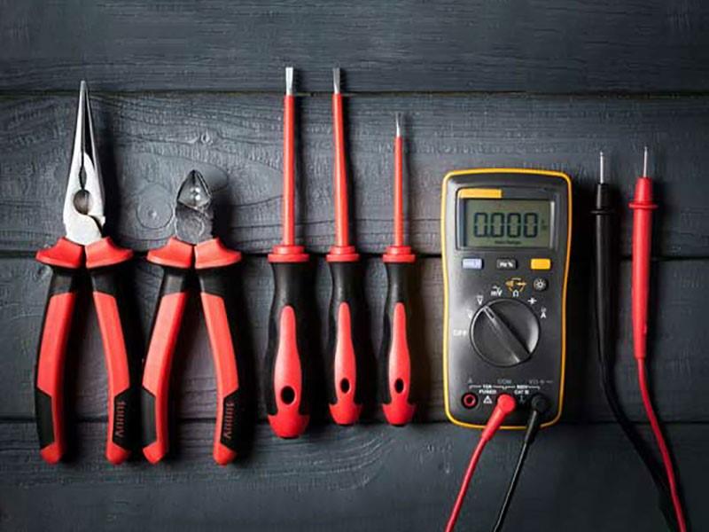 ابزارهای برق کشی ساختمان